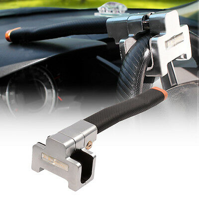 Anti Theft Security Lock Clamps Car Steer Wheel Safety Devides 2 Keys Devices UK
