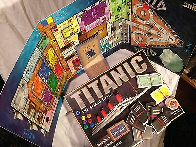 TITANIC The Board Game *Complete 1998 Universal Games