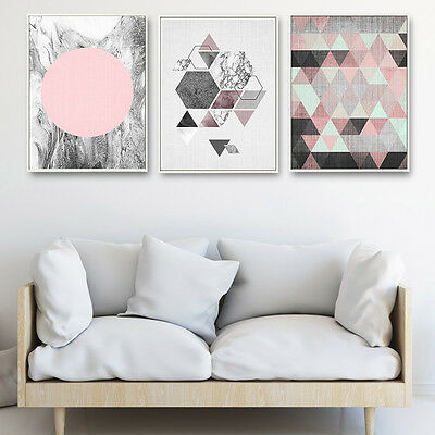 Geometry Abstract Minimalist Canvas Poster Art Prints Painting Modern Home Decor