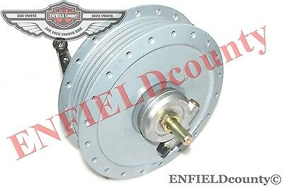 Royal Enfield Bullet 7'' Front Brake Drum Hub Complete Assembly @aud