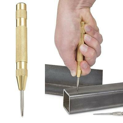 New Tekton Gold Automatic Center Punch Metal with Adjustable striking force 6580
