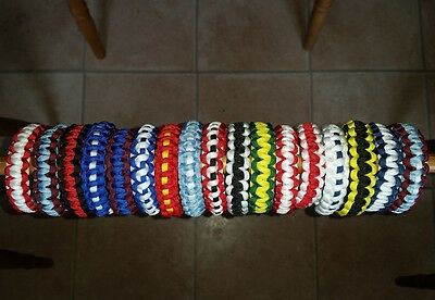 Handmade Premier League Football/soccer Team Bracelet. Other Teams Made To Order
