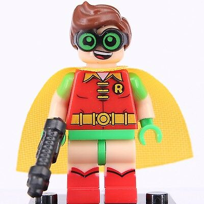 "The Lego Batman Movie """" 2017 's Robin """" Superheroes Mini Figures Fit Lego"