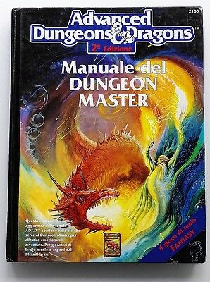 ★ BUONO STATO ITA ★ MANUALE DEL DUNGEON MASTER ★ Advanced Dungeons & Dragons D&D