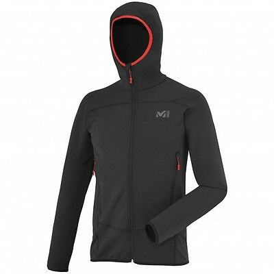 Millet Technostretch Hoody, gilet polaire capuche homme