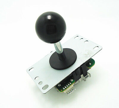 Quality joystick black top ball with 5pin wire for arcade game machine