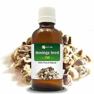 Moringa Seed Oil (Moringa-Oleifera) 100% Natural Pure Carrier Oil 5ml To 1000ml
