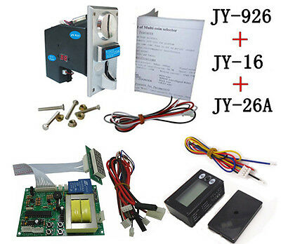 JY926+JY16+JY26A coin operated time control device for cafe kiosk