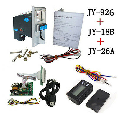 926+18B+26A DIY coin operated time control device for USB deivces