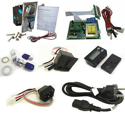 timer set for 110V EURO EU plug multi coin operated Time Control Power Supply