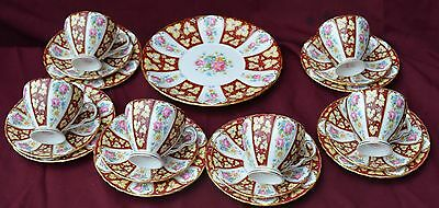 Grafton China  Teaset For 6  In Gainsboro' Pattern Rare
