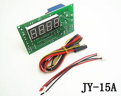 Newest JY-15A Time Control Timer Board Power Supply for coin acceptor selector