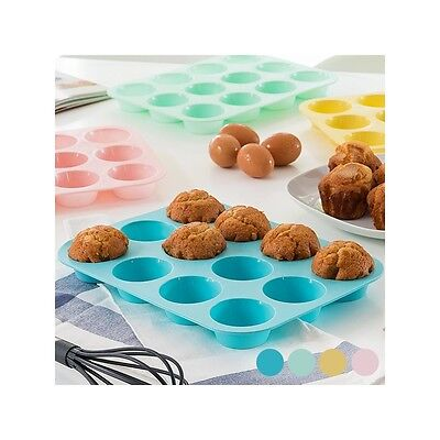 Moule en Silicone pour 12 Madeleines Vert