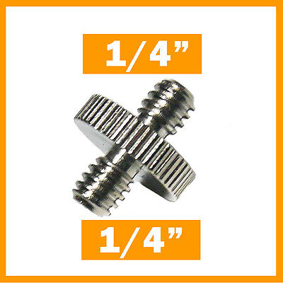 1/4 '' to 1/4 '' adapter screw converter for Tripod,Camera,Flash - FREE POST