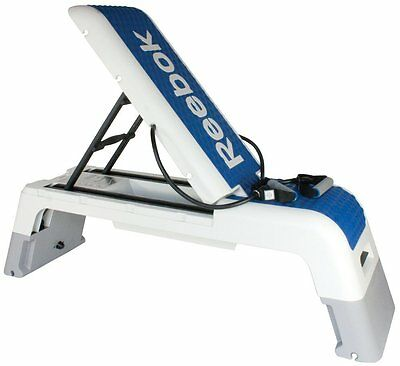 Reebok Workout Step Platform Bench Sport Multi Fitness Stepper Exercise DVD Tube