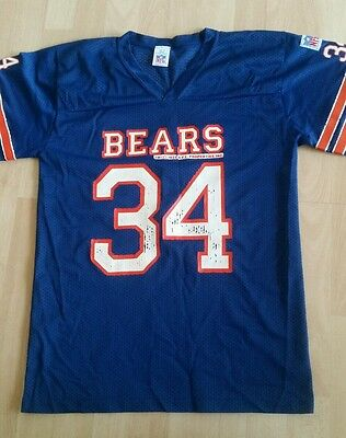 NFL Chicago Bears Vintage Walter Payton Jersey Small
