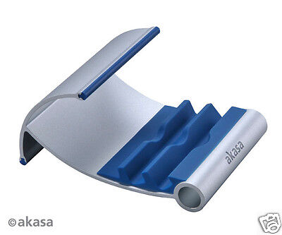 Akasa Leo Tablet Stand Blue Quality & Stylish Aluminium Stand for Tablet / iPad
