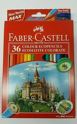 Faber Castell 36 pastelli matite colorate