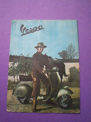 VESPA Spanish Only ADVERTISING 1960s PUBLICIDAD Scooter Mod