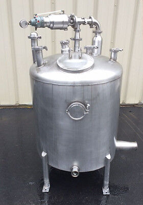 100 Gallon Stainless Steel Balance Tank, Foodgrade