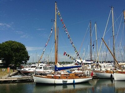 ''Classic 1950's Wooden Sailing Yacht''...with scope for further investment!