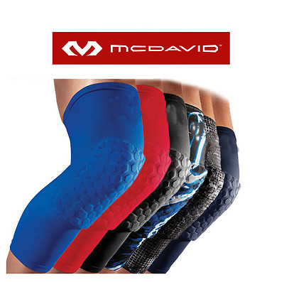 McDavid Knee Pads Hex Leg Sleeves 6446 Extended Compression Support