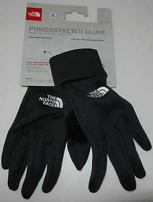Nwt The North Face Powerstretch Glove Unisex Xs Asphalt Grey Avdy0C5-Xs Srp $35
