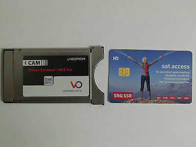 SRF SRG Viaccess V6.0 Karte + Viaccess-Orca HD-CAM 100% compatibel