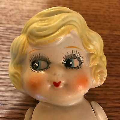 Vintage Bisque Doll Made In Japan