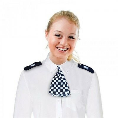 Police woman WPC Scarf and Epaulettes Cop Officer Fancy Dress Costume Set