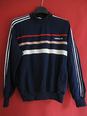 Sweat Vintage ADIDAS First ventex Acrylique Made in France - 174 / M