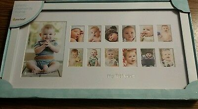 Pear Head My First Year Picture Frame NEW