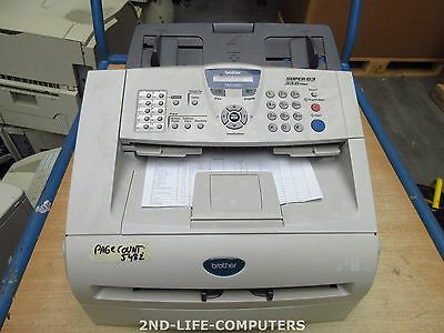BROTHER FAX 2920 A4 14ppm  Plain Paper Laser Fax Machine PRINT OK