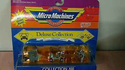 Galoob Micro Machines Collection XIII Deluxe Collection ~ New in Package