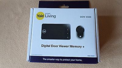 Yale Smart Living Digital Door Viewer Memory Ddv 4500 & Camera