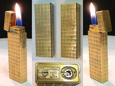 BRIQUET Ancien * Maruman IC 501 * Vintage gas LIGHTER Feuerzeug Accendino