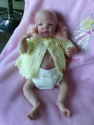 SOPHIE  L. E 146 /200 realistic reborn baby girl doll sculp by VALERIE CHAMPION