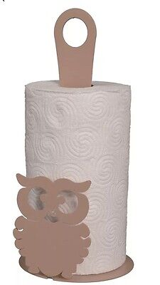 Arti E Mestieri Porta Scottex Gufo Beige - Roll Holder Owl Beige Made Italy