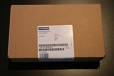 Siemens LOGO TDE - Text Display  NEU & OVP | 6ED1055-4MH00-0BA1