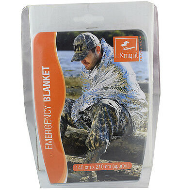 Emergency Foil Blanket Thermal Survival  Blankets First Aid Protection *24c