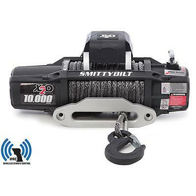 Smittybilt 98510 X2O 10 Comp-Gen2-10,000 lb. Winch-Comp Series W/Synthetic Rope