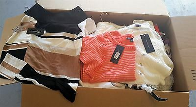 Wholesale Pallet of 221 High End Womens Apparel Clothing Mix Brands Sizes Styles