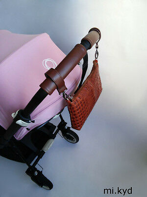 Genuine Leather handle cover for Bugaboo Bee3 Bee+