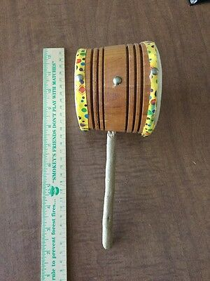 Indian Zihuatanejo Mexico Drum Rattle