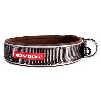 EZYDOG - Neo Dog Collar Chocolate Brown Large 46-51cm - Free Delivery