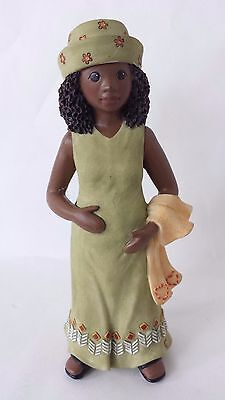 Sarah's Attic She's All That Figurine She Loves Pregnant African American Woman