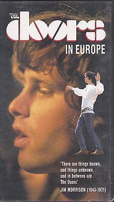 The Doors-In Europe Music VHS