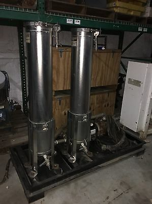 Rosedale Products Duplex Stainless Steel Filtration Unit, 1 Filter Installed