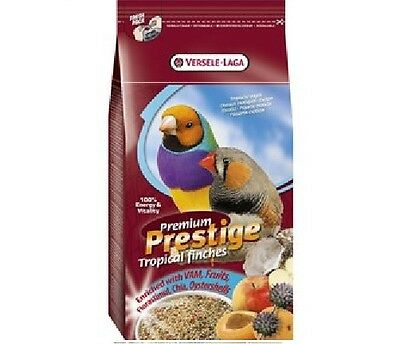 Versele Laga Prestige Premium Tropical Finches x 1kg Foreign Finch Seed Food Fee