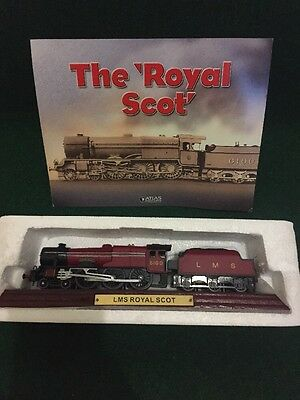 Atlas Editions Locomotive Model 1:100 LMS The 'Royal Scot'